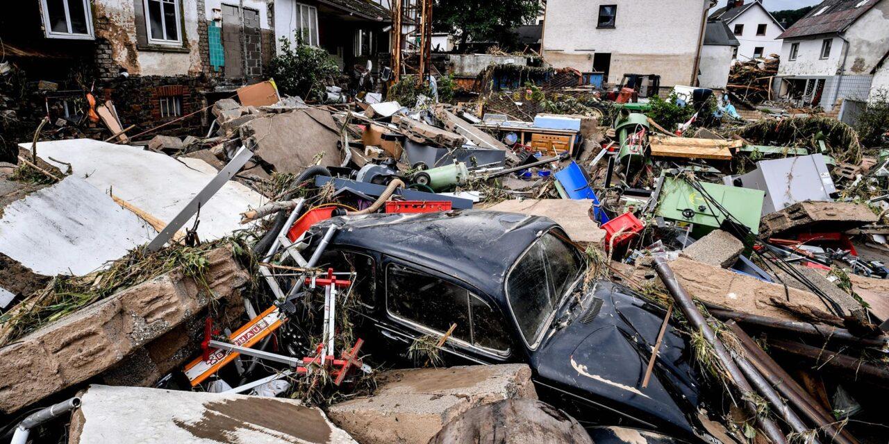 Las inundaciones alemanas suman 135 muertos y plasman el combate climático