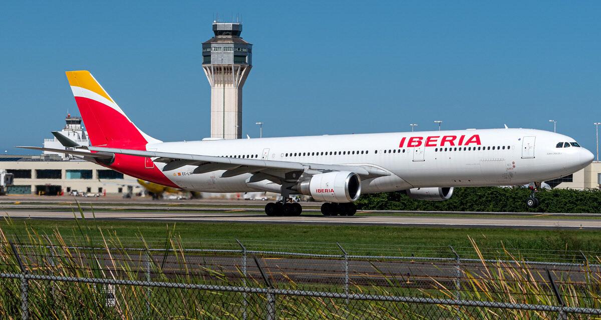 Iberia vuelve a Puerto Rico tras un parón desde marzo de 2020
