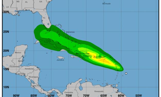 Emiten vigilancia de tormenta tropical para Puerto Rico