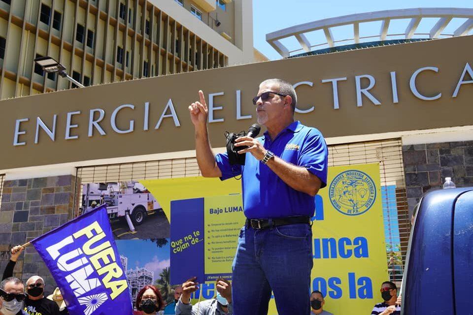 Apagones programados son para justificar privatización de las plantas generatrices, asegura Ángel Rafael Figueroa Jaramillo
