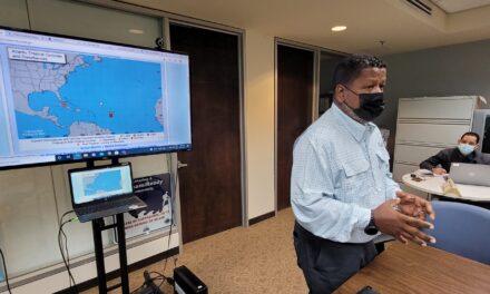 NMEAD exhorta a estar atentos al posible paso de sistema atmosférico este fin de semana