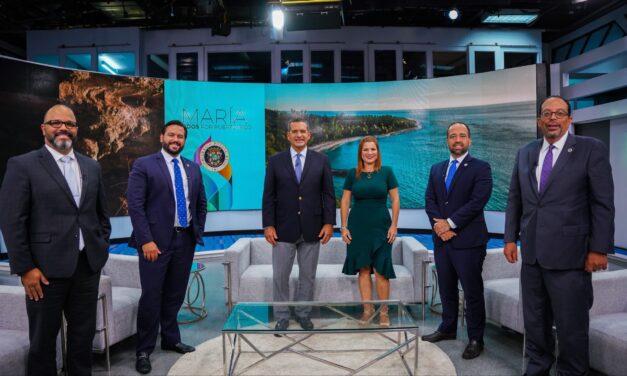 Gobierno presenta programa especial sobre reconstrucción tras huracán María