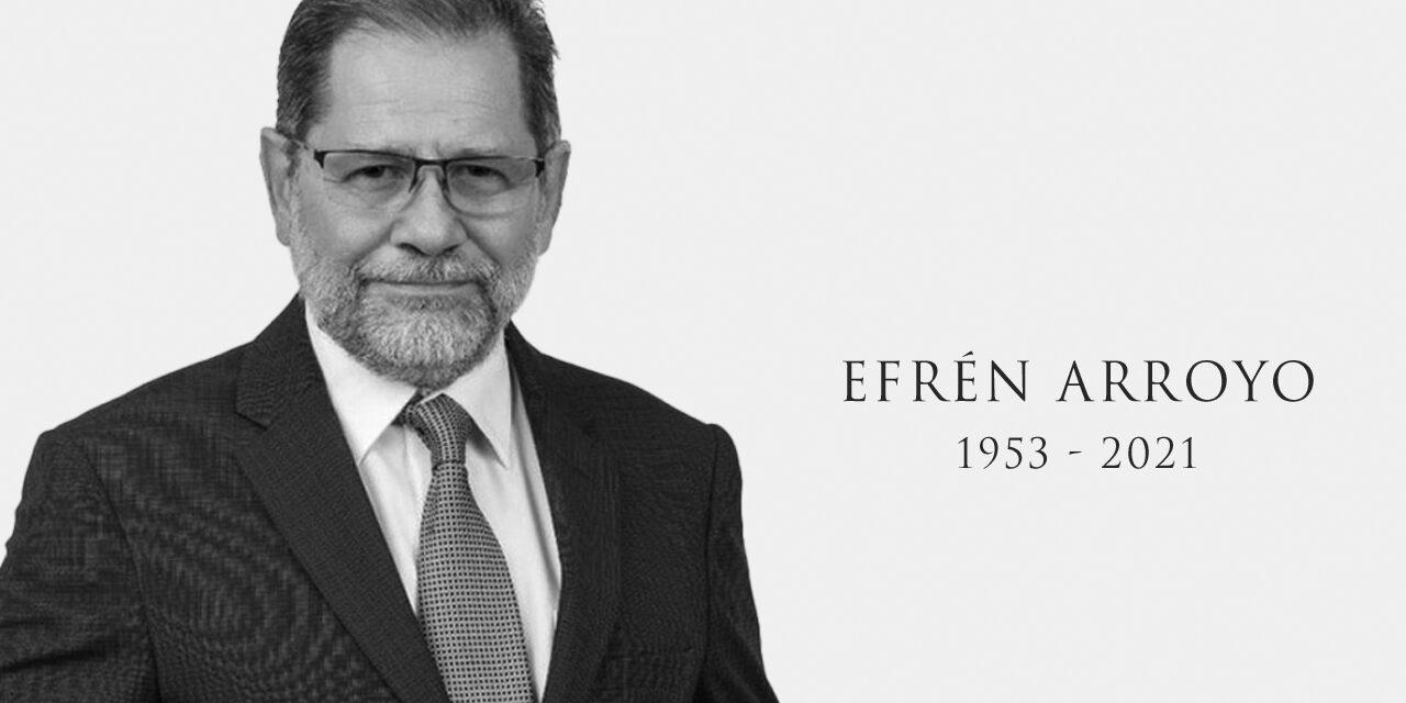 Fallece el periodista Efrén Arroyo