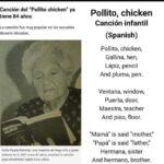 Origen de la Canción de Pollito Chicken