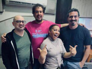 Harold Wendell Sanders, Luis Amed Irizarry,Milly Quesada y Antonio Caraballo