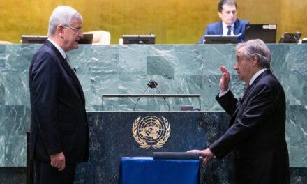 António Guterres, confirmado al frente de la ONU por otros cinco años