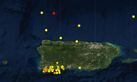 Red Sísmica reporta un temblor de magnitud 3.9 al norte de Hatillo