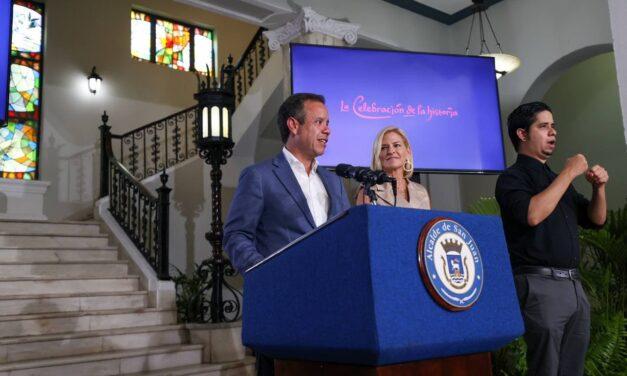 Alcalde de San Juan anuncia actividades de conmemoración del Quinto Centenario de la Ciudad Capital