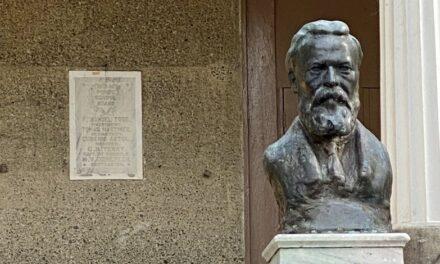 Se apropian de busto en bronce de Federico Degetau en Ponce