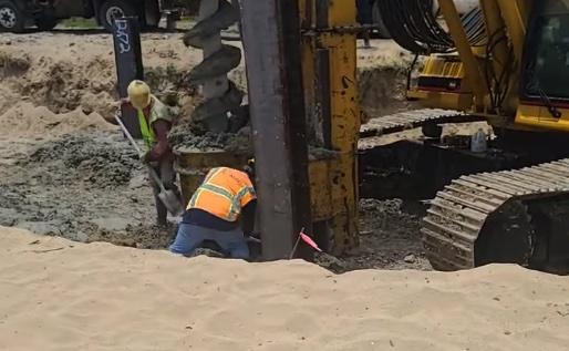 Por anidaje de tortugas, DRNA ordena cese y desista en reconstrucción de piscina en condominio en Rincón