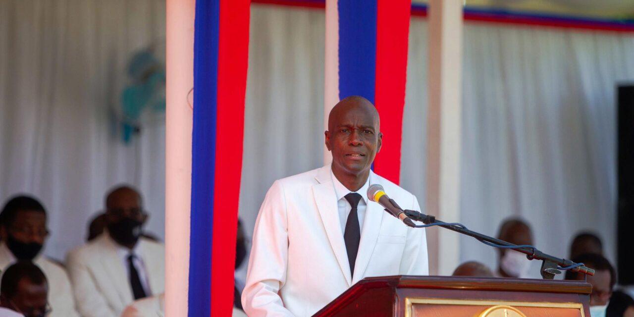 asesinan a tiros en su casa al presidente de Haití, Jovenel Moise