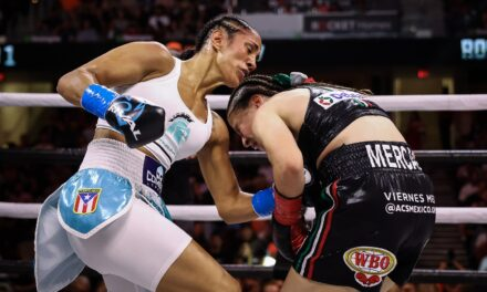 Amanda Serrano se alza con la victoria en duelo con la mexicana Yamileth Mercado