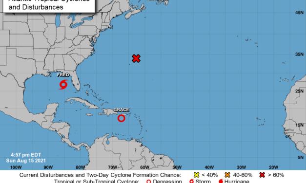 Descontinúan aviso de tormenta tropical para Puerto Rico