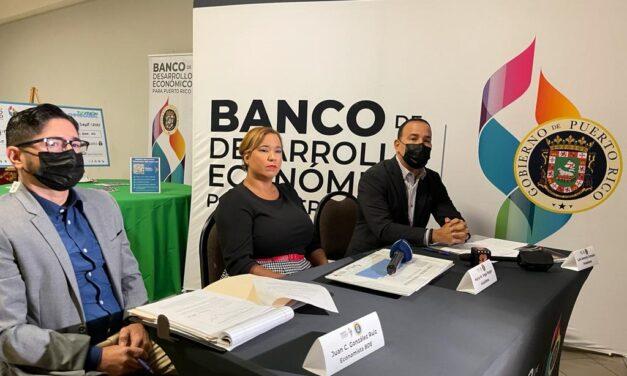 BDE entregó $316 mil a comerciantes vegalteños y presentó datos económicos del municipio