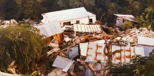 Derrumbe de Mamayes en Ponce