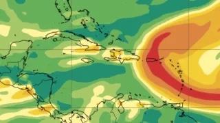 Advierten de la presencia de nube de dióxido de azufre en la Isla proveniente del volcán La Palma